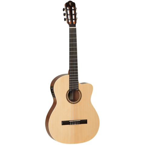Tanglewood TWCE4 Winterleaf Solid Top Classical Cutaway / Electric