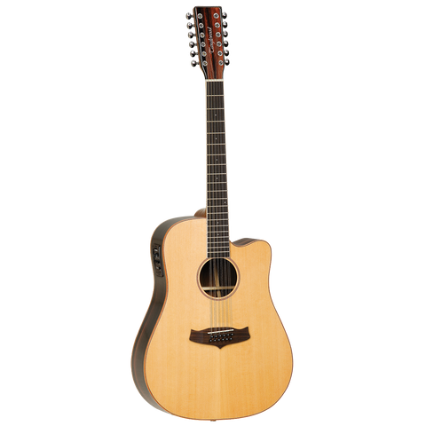 Tanglewood TWJDCE-12 Java Dreadnought 12-String C/E Acoustic Guitar