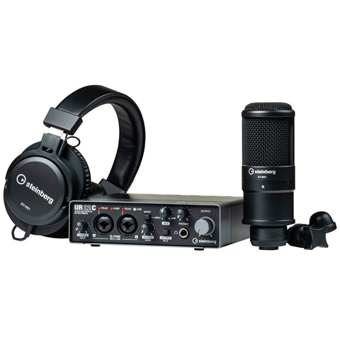 Steinberg UR22C Recording Pack – Audio Interface
