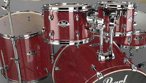 Pearl EXPORT DRUM (Shell Pack) Black Cherry Glitter