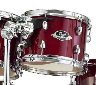 Pearl EXPORT EXX Fusion Plus Drum Kit Various Colours Including 830 Hardware Pack