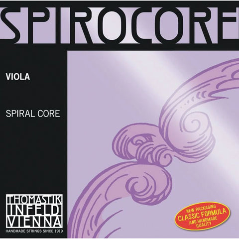 Thomastik S23 Spirocore Viola String Set - Medium