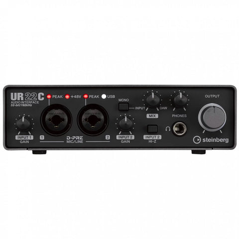 Steinberg UR22C USB-C 2 Channel Audio Interface