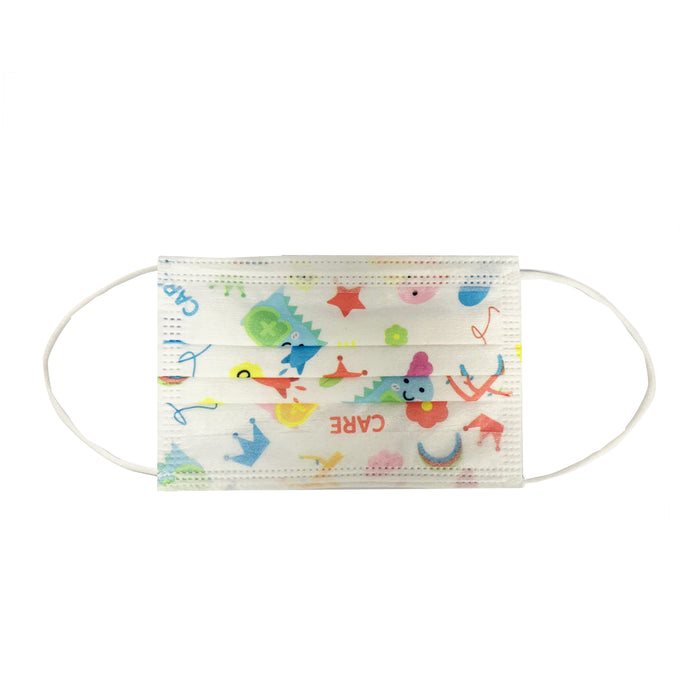 3 Ply Disposable Children Face Mask 50 pcs