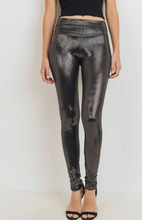 Load image into Gallery viewer, Metallic High Waist Leggings