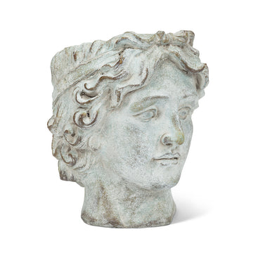 Male Greek Head Planter - Large