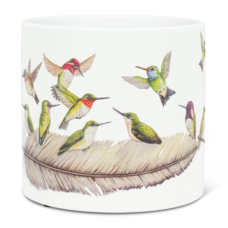 Hummingbird planter