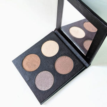 4 Color Eyeshadow Palette