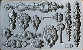 Lock and Key Decor Mould™