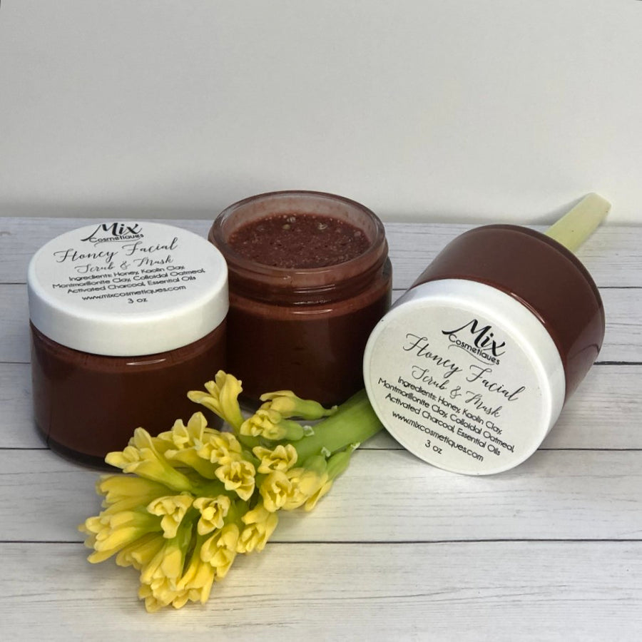 Honey Facial Scrub & Mask