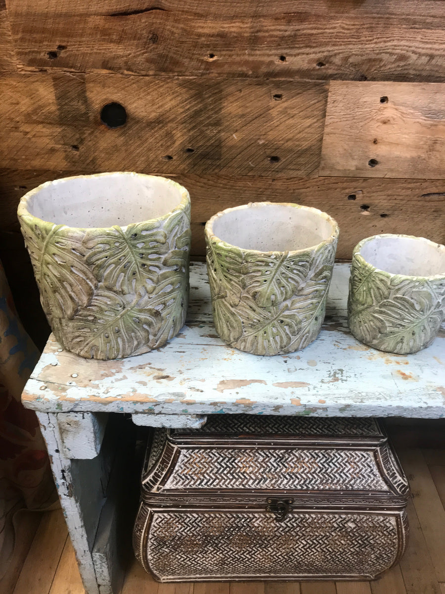 Embossed Planters