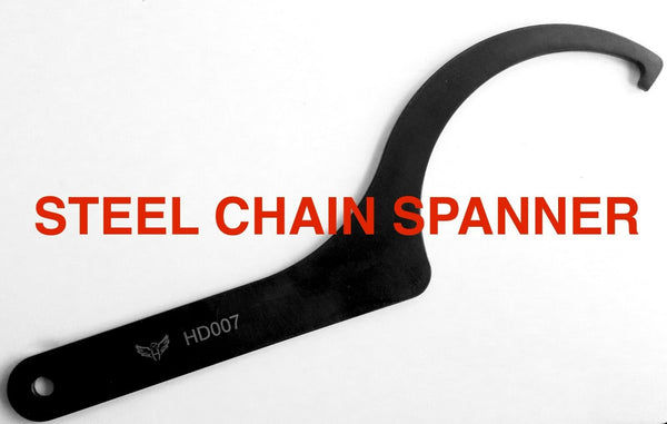 STEEL Triumph Chain/Hub Adjuster Tool All Triumph's with single-sided swing arm