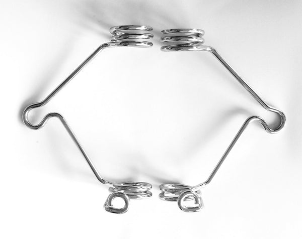 Ducati Bevel 750 GT Sport 860 Wire Headlight Spring MOUNT SET 38mm Marzocchi Ceriani - HdesaUSA