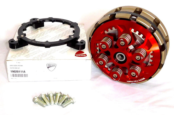 Ducati Monster 900 MHR 900e 100GT Clutch Set COMPLETE Red Hardware