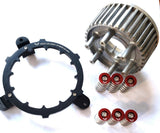 Ducati 6-speed Clutch Hub Spring Collar Set RED w/ Holding Tool - HdesaUSA
