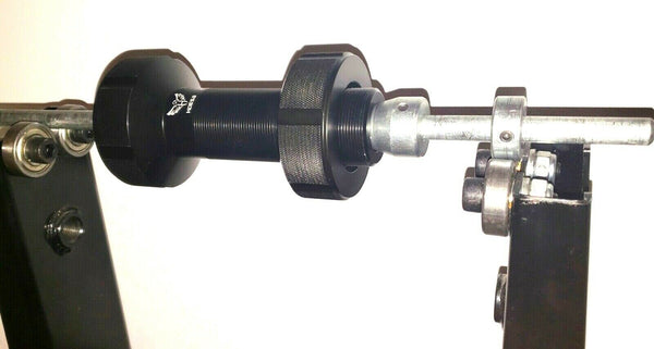 TRIUMPH REAR WHEEL BALANCE HUB TOOL. All TRIUMPH  / Single sided swing arm.