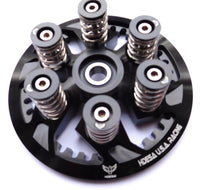 DUCATI DRY CLUCH PRESSURE PLATE w/ Spring / Collar SET BLACK ANODIZED