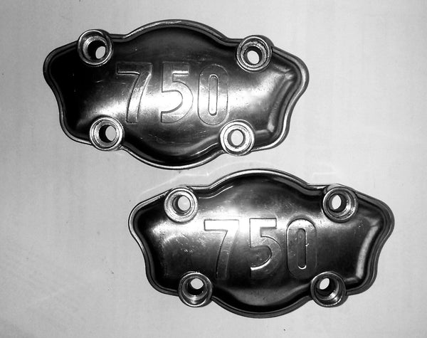 Ducati Bevel Roundcase 750 GT Sport SP SS Cam Camshaft Support Block Cover SET
