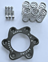 Ducati Clutch Spring Spider Stainless Bolt Kit GUNMETAL Aluminum