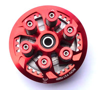 Ducati 748 916 996 998 Monster Complete Clutch Pressure Plate Kit Red Anodized - HdesaUSA