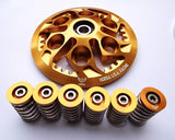 DUCATI CLUTCH PRESSURE PLATE INNER DRUM HUB KIT GOLD