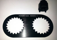 DUCATI 1098 / R  HDESA CAM WHEEL NUT TOOL SET HD005-1 - HdesaUSA