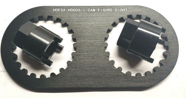 Ducati 20-tooth Camshaft Locking Alignment Tool w/ Nut Socket Set - HdesaUSA