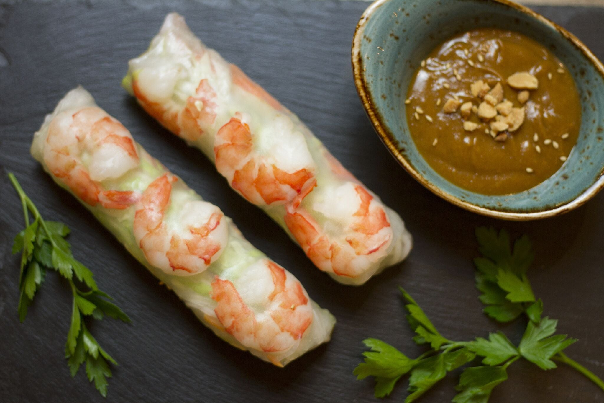 25. SHRIMP ROLL (SOMMERROLLEN)