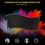 RGB LED mousepad