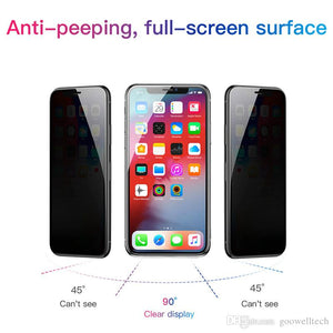 Privacy Screen Protector (iPhone X/XR/XS/Max/11/Pro/Max)