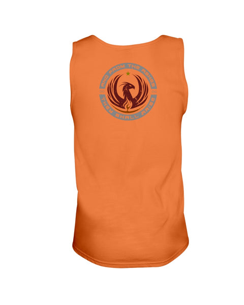 And From The Ashes, They Shall Arise (Unisex Tank Top)