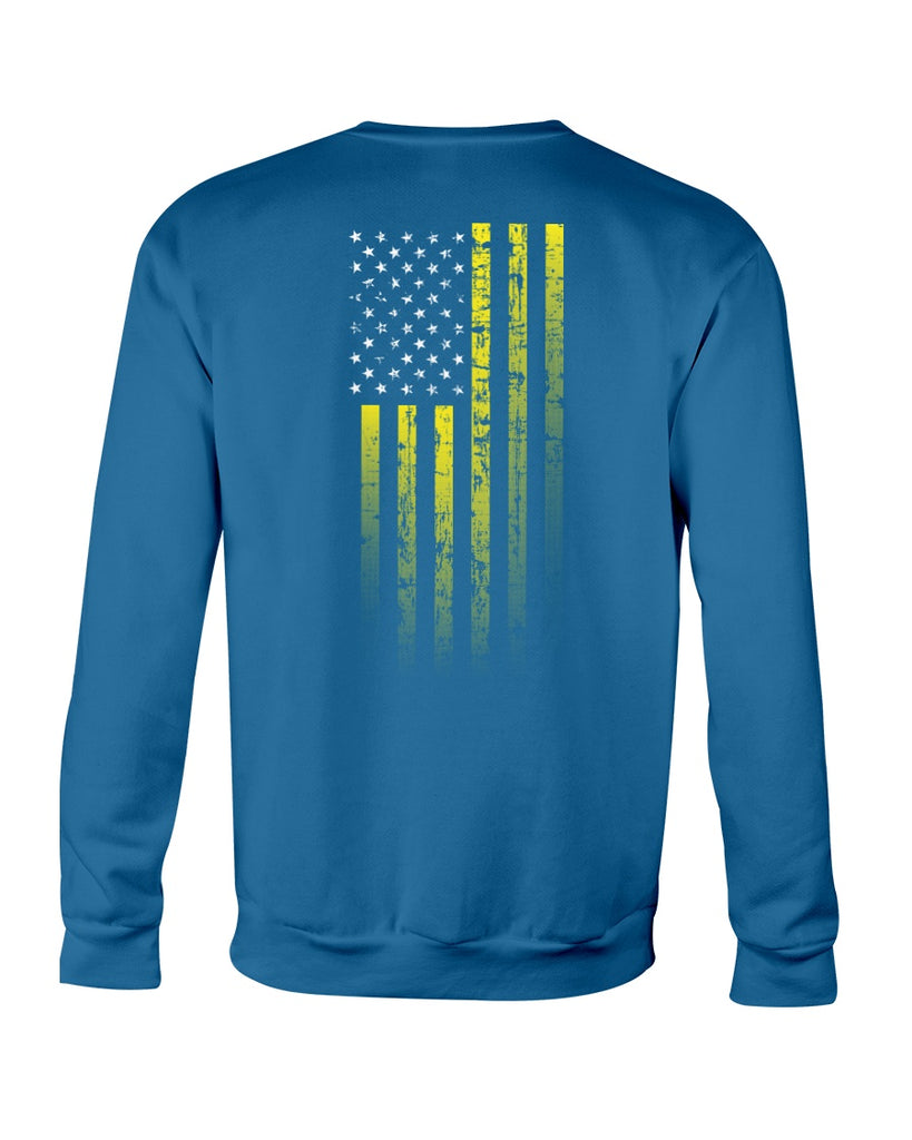 We, The Rugged Patriots - Suicide Prevention Awareness (Crew Sweatshirt)