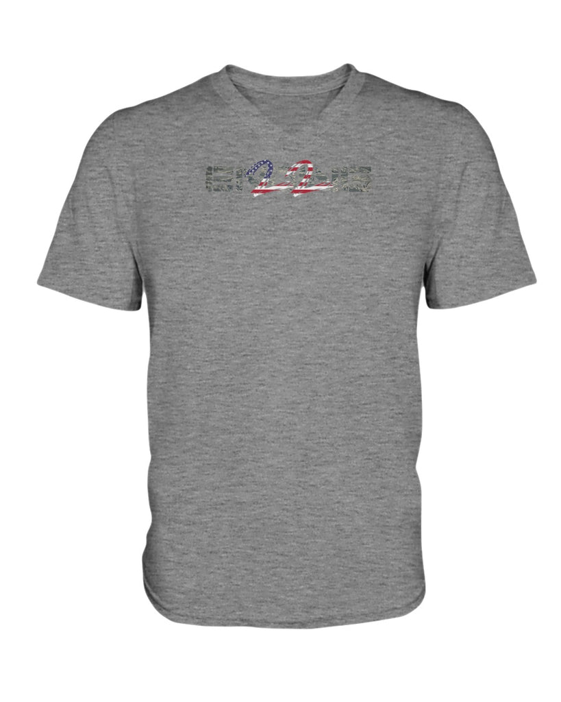 ENDING 22 v. 3.0 - Air Force Edition (Ladies HD V Neck T-Shirt)