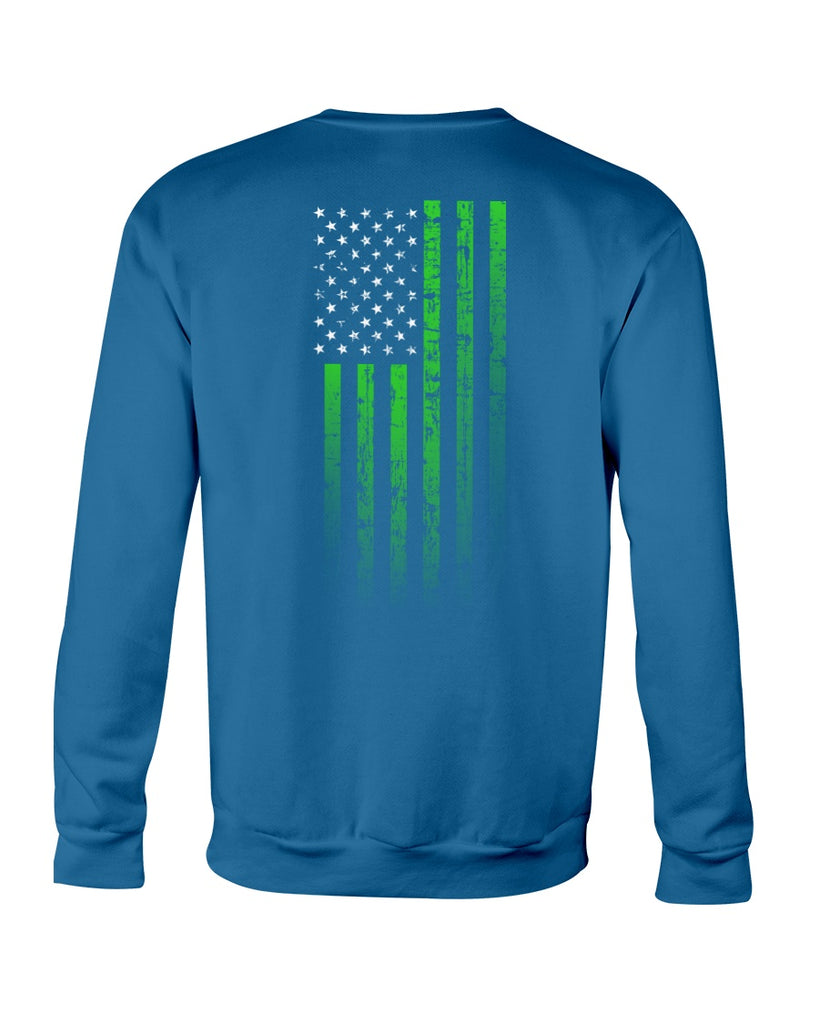 We, The Rugged Patriots - Mental Health Awareness (Crew Sweatshirt)