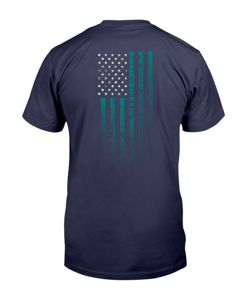 We, The Rugged Patriots - PTSD Awareness (Men's/Unisex T-Shirt)