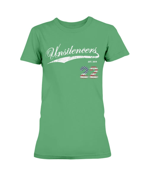 ENDING 22 v. 1.0 - The Unsilencers (Ladies Missy T-Shirt)