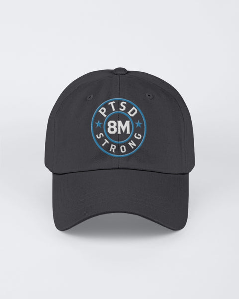8 Million Strong - PTSD Awareness (Twill Unstructured Cap)
