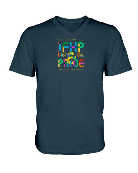 PRIDE 2020 (Ladies HD V Neck T-Shirt)