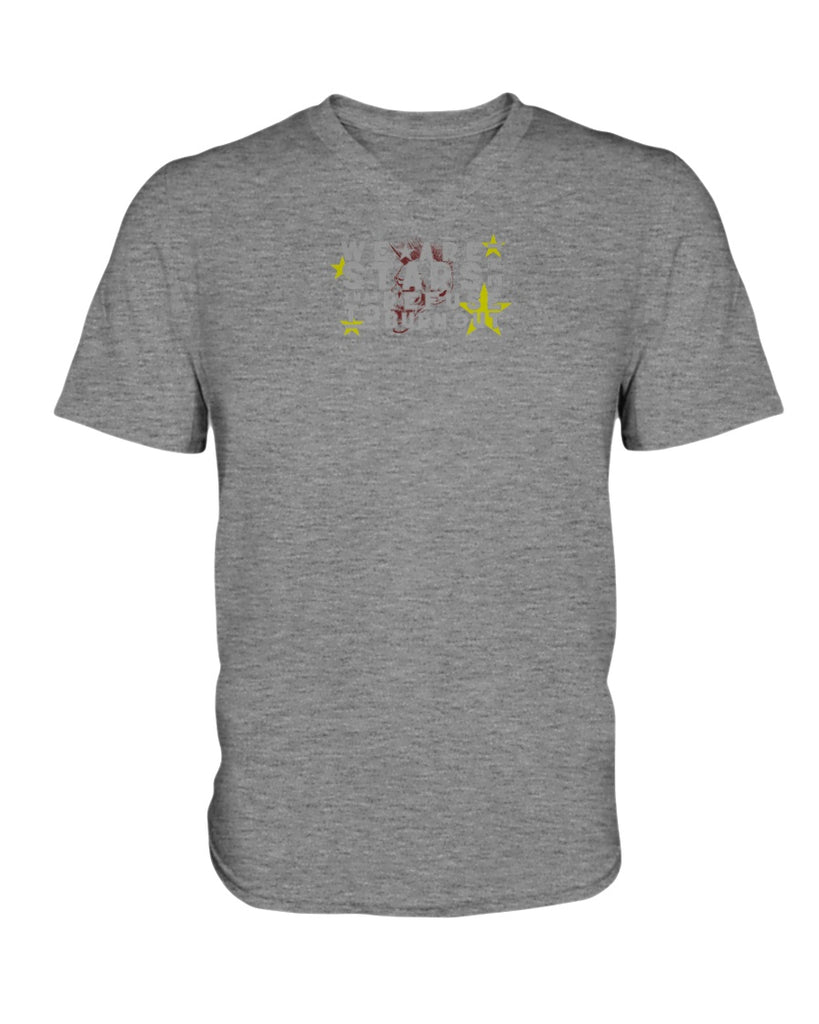 We Are The Stars - Suicide Prevention Awareness (Ladies HD V Neck T-Shirt)