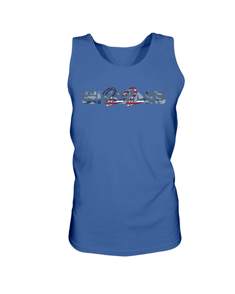 ENDING 22 v. 3.0 - Navy Edition (Unisex Tank Top)