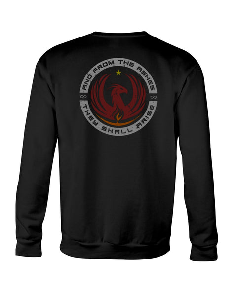 And From The Ashes, They Shall Arise (Crew Sweatshirt)