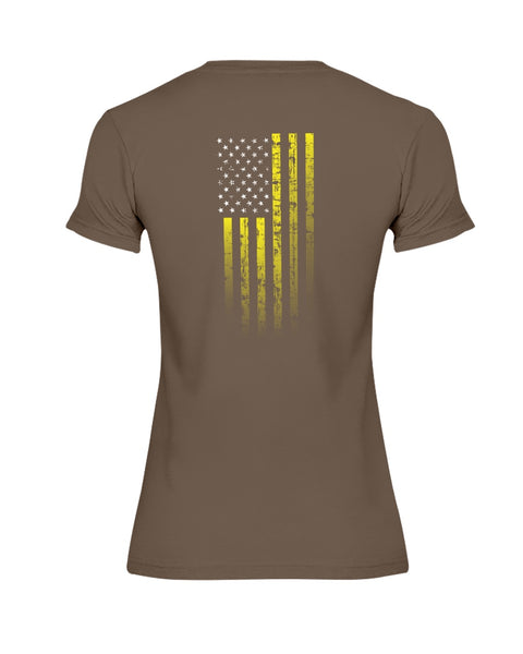 We, The Rugged Patriots - Suicide Prevention Awareness (Ladies T-Shirt)
