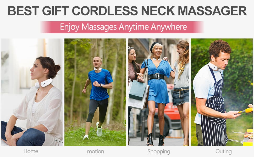 Smart Electric Neck and Shoulder Massager Pain Relief