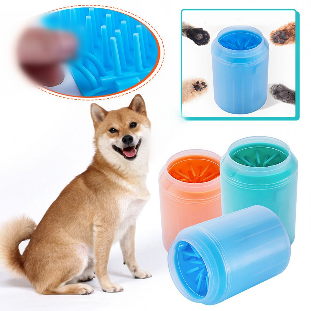 Soft Silicone Dog Paw Cleaner Cup