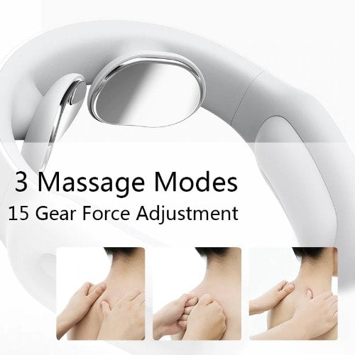 Smart Electric Neck and Shoulder Massager Pain Relief - Wowtsup