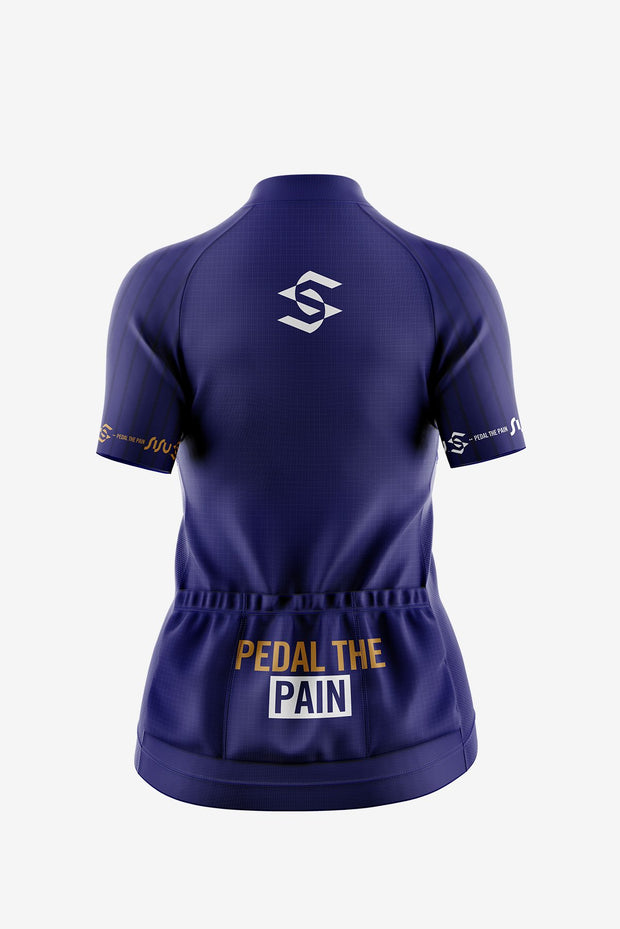 Limited Edition Summer Jersey Navy Back (Women)