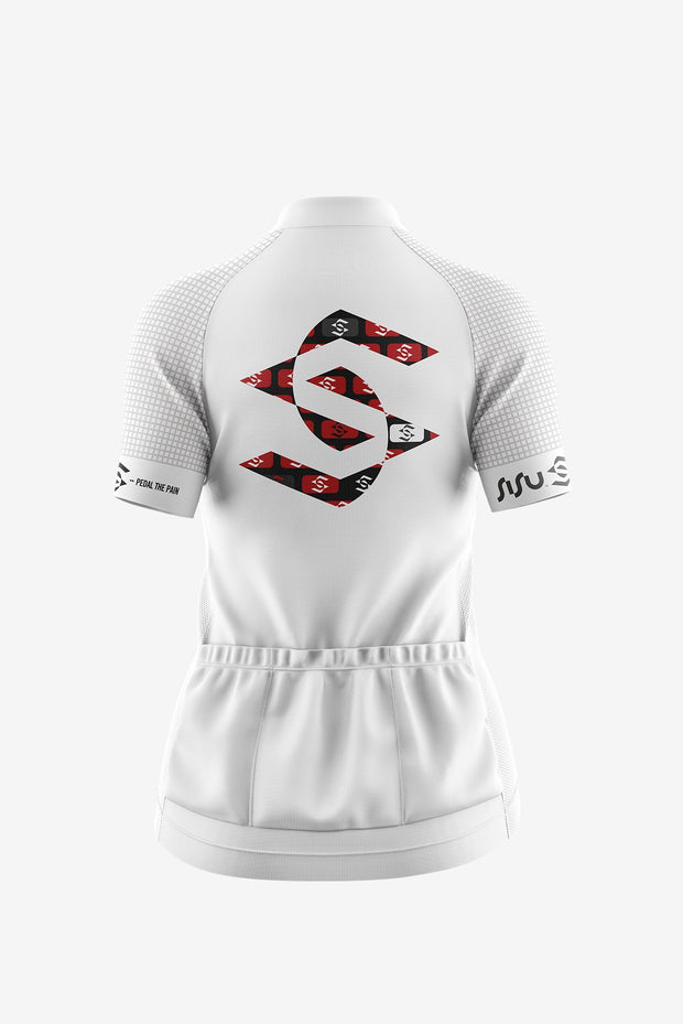 Pro White Brick Jersey Back (Women)