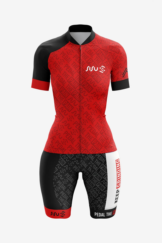 SiSu Pro Cycling Kit Natural Colour-range (Women)