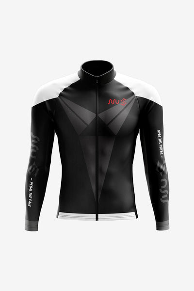 Premium Windproof Long-sleeve Jacket Front (Men)