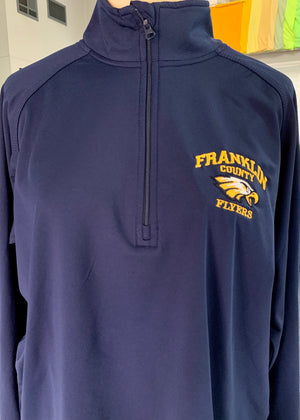 Franklin County Flyers 1/2 Zip Hoodie